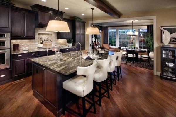 آشپزخانه به سبک مدیترانه ای | MDF رنجبر